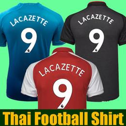 Best thailand aaa Season 2017 2018 soccer jerseys ALEXIS sanchez OZIL XHAKA  GIROUD RAMSEY football shirt 17 18 LACAZETTE soccer shirt camisa 328e3ea3979b2