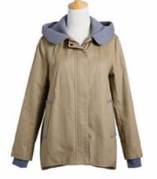 Wholesale women cotton trench coats fashion for sale - Group buy Women qiu dong han edition business English new fashion boutique personality big yards trench coat M xl