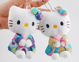 Wedding stuffed animals online shopping - Hot Mix Colors Wedding Plush Toy CM Middle Size Hello Kitty Stuffed plush toys Gift keychain Kitty Plush Toy
