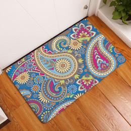 Beautiful Mats NZ - beautiful paisley pattern mat for entrance 12 designs ethnic kitchen bathroom carpet flannel floor doomat decorative rugs