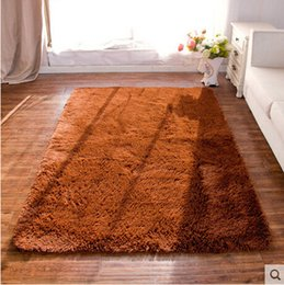 2017 Design Carpets For Sale Long Plush Shaggy Soft Carpet Area Rug Slip Resistant Door Floor Mat Bedroom Living Room Tapis Inexpensive