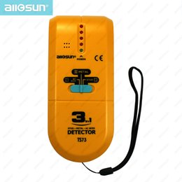 $enCountryForm.capitalKeyWord NZ - 3 in 1 Multi-function Metal Detector Portable Wood Stud Finder AC Wire Scanner Voltage Sensor Pinpoint Sensitive Tool LCD Mode All-Sun TS73