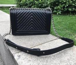 $enCountryForm.capitalKeyWord NZ - Dress Style gold silver chain Shoulder Bags for Women High Quality handbag Leather Plaid Flap totes messenger bag