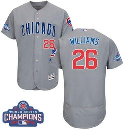 3ff881a890b ... Chicago Cubs 26 Billy Williams White Home Throwback Jersey Mens Chicago  Cubs 26 Billy Williams Jersey White Royal Blue Gray Flexbase Cool Base ...