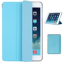 $enCountryForm.capitalKeyWord Canada - Wholesale- TPU Material Sleep Wake Up Support Design Holder Protective Cover Case for iPad Air 2
