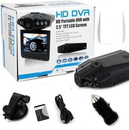Ir Dvr Home NZ - Car DVR 2.5 Inch 270 Degree Rotation Screen, 6 IR LED Vehicle Black Box Camera Cycle Recording Dash Cam Car Camcorder