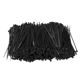 cable ties tool Australia - 1000Pcs Set 100mm x 1.8mm Self-Locking Black Nylon66 Wire Cable Zip Ties Fasten Wrap ROHS Certificated