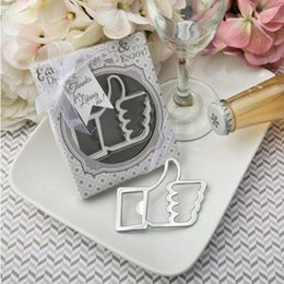 Alloy steel products online shopping - Hot sell vertical thumb stainless steel bottle opener creative wedding gift cute practical home small products