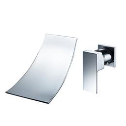 Bathroom Faucets Brass Finish brass finish waterfall faucets online | brass finish waterfall