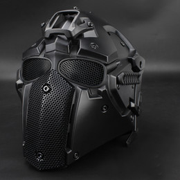 Discount paintball equipment - Wholesale- Paintball Tactical Helmet Protective Helmet CS equipment hunting accessory