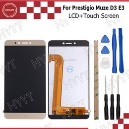 Mobile Phone Parts Ocolor For Prestigio Grace S5 Lte Psp5551 Duo Lcd Display And Touch Screen Digitizer Assembly Perfect Repair Part 5.5 Inch+tools Mobile Phone Lcds