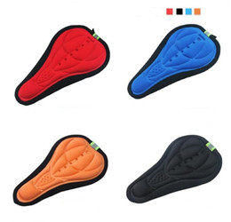 $enCountryForm.capitalKeyWord Canada - outdoor riding Rockbros Cycling Bike 3D Pad Bicycle Seat Saddle Cover Soft Cushion Gel Silicone Thicker 3D Cushion Cover