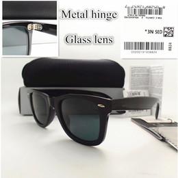 038e075d66 AAAA + lente de vidrio de calidad 52 MM Bisagra de Metal Diseñador de la  Marca Marco de la Manera marco Hombres Mujeres Gafas de Sol Deporte gafas  de Sol de ...