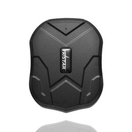 Car Remote Device Australia - Magnetic GPS Tracker for Car 5000mAh Li-battery IP67 GSM SMS GPRS Remote Control Location Device