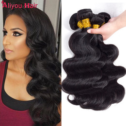 $enCountryForm.capitalKeyWord Canada - Peruvian Body Wave Virgin Human Hair Weave Bundles Wholesale Cheap Remy Braiding Hair Extensions Remy Human Hair Ponytail For Black women