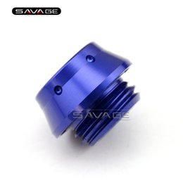 $enCountryForm.capitalKeyWord NZ - For YAMAHA MT07 FZ07 MT-07 FZ-07 XSR 700 Motorcycle CNC Aluminum Engine Oil Filler Screw Bolt Plug Cap Cover New Blue