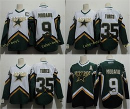 ... NHL Jersey Already have the APP Dallas Stars 9 Mike Modano 2005 Green  White 35 MARTY TURCO 2003 CCM Throwback Home Stitched ... 50379a874