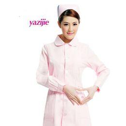 врач белый с длинными рукавами платье медсестра с короткими рукавами равномерное эксперимент под аптека салон красоты работа 052