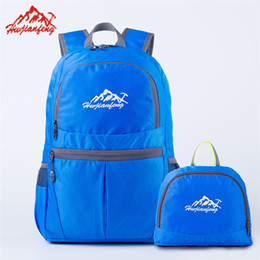Folding Art Table Australia - Free DHL Fedex Shipping Folding Backpack Boys & Girls' Casual Backpacks Travel Outdoor Sports Bags Teenager Students School Bag Multicolors