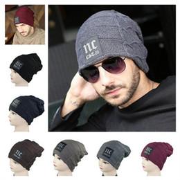 Men Designer Hats NZ - 6 Color mix order brand new designer beanie mens sport beanie hat acrylic kint winter hat wholesale
