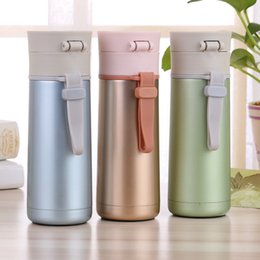 $enCountryForm.capitalKeyWord Australia - 2017 New Innovative Stainless Steel Vacuum Thermos Flasks Fashion Straight Hot Water Bottle with Handle Business Gift
