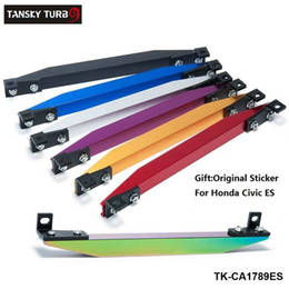 Honda lower arms online shopping - SUBFRAME LOWER TIE BAR ES REAR with BEAKS Sticker FOR HONDA CIVIC ES Silver Golden Blue Red Purple Black TK CA1789ES