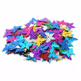 craft machine tools UK - New Arrivals Mixed Color different size Loose Sequin for Clothing Accssory DIY Craft For Scrapbooking Wedding
