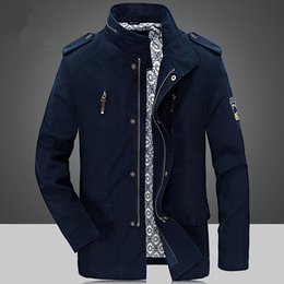 $enCountryForm.capitalKeyWord Canada - Hot Sales 2016 New Brand Autumn & Winter Men's Cotton Jackets Stand Collar Mens Jackets Fashion clothing Casual Outerwear for Men Plus Size