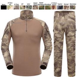 $enCountryForm.capitalKeyWord Canada - Outdoor Woodland Hunting Shooting Shirt Battle Dress Uniform Tactical BDU Set Army Combat Clothing Camouflage US Uniform SO05-007