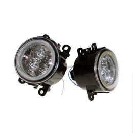 $enCountryForm.capitalKeyWord NZ - For Nissan Sentra 2007-2009 2010 2011 2012 Car Styling Bumper Angel Eyes LED Fog Lamps DRL Daytime Running Fog Lights OCB Lens