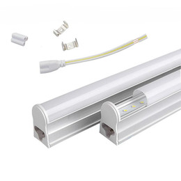 277v t5 led tube lights Australia - T5 1.2m Integrated 22W Led Tube Lights 96pcs SMD 2835 LED Fluorescent 4FT Tube Light AC 85-277V Warm Cool White