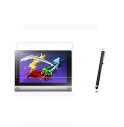 TableT screen guard online shopping - Matte Screen Protector Films Anti Glare Protective Matted Film Guards Stylus For Lenovo Yoga Tablet F inch