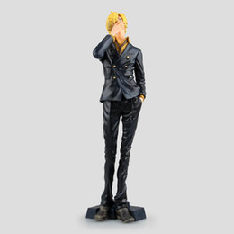Japanese pvc figures online shopping - 25CM pvc Japanese anime figure one piece Sanji action figure collectible model toys for boys fast shipping