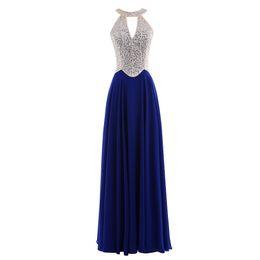 $enCountryForm.capitalKeyWord UK - Halter New Designer V neck Long to floor Homecoming Dress good quality Bridesmaid evening dress party dress Prom gown