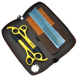 $enCountryForm.capitalKeyWord Canada - 5.5Inch Jason 2017 New Arrival Hair Scissors Set Kit Professional Hair Cutting &Thinning Shears Sharp Hairdressing Scissors, LZS0343