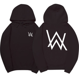 S electronicS online shopping - Hot Selling Electronic Music Fade DJ Alan Walker Same Hoodie Men Women Full Sleeves Mens Sportsuits Cotton Sweatshirt Men