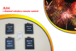 A04 Sistema de disparo Control remoto doble Sistema de disparo de 4 canales