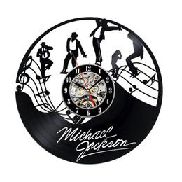 Michael Quartz Canada - Vinyl Record Clock Gift for Michael Jackson Fans