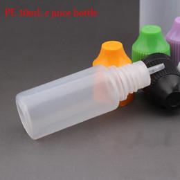 Liquid Bottles Canada - Soft Style 3100pcs lot 10ml LDPE Plastic Dropper Bottle E Cigarette Wholesale Child proof Liquid Bottles Juice Container For Eliquid
