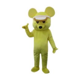$enCountryForm.capitalKeyWord UK - Yellow mouse Mascot Costume Cartoon Character Adult Size Longteng high quality(TM)