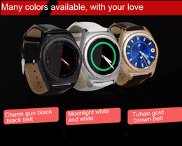 Bluetooth Smart Watch Sim NZ - Free Shipping S5 WristWatch Bluetooth 3.0 Smart Watch Sport Pedometer With SIM CPU MTK6261 Smartwatch for Android Smartphone