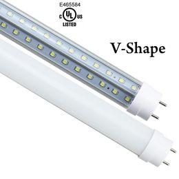 $enCountryForm.capitalKeyWord Canada - V-Shape 3ft 4ft 5ft 6ft 8ft Led Tube Light T8 65w Led Tube bulb Double Sides SMD2835 Led Fluorescent Lights AC85-265V CE UL
