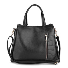 China Pattern Patch Tote Bag Shoulder Bags for Women Handle Style PU Leather Tote Bag Solid Color Ladies Women Handbag suppliers