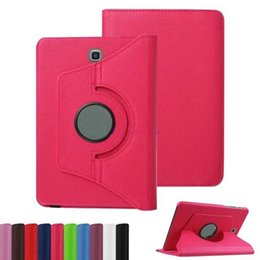 samsung tab s2 leather cover 2019 - 360 Rotating Leather Smart Cover Case For ipad 9.7 2017 Mini5 Samsung Galaxy Tab S2 T810 S3 T820 Tab E T560 T377 cheap s