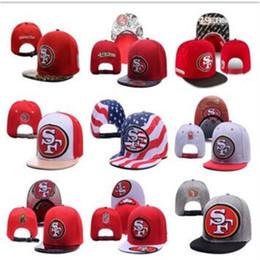 Discount flat brim cap cheap - SF Sports Team Hats Fitted Baseball Snapbacks Caps Fashion Ball Caps Men Designer Hats Cheap Snap Back Hats Fashion Flat