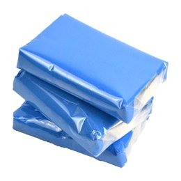 Car Detailing Clay Bar UK - Wholesale- 3pcs Auto Shine Magic Blue Clay Bar for Auto Detailing Cleaner & Car Washer 100g