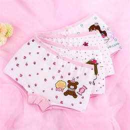 Chinese  Cute rabbit princess childrens underwear cotton cartoon print baby baby flat pants girl underwear panties 3 style 6 size manufacturers
