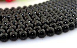 $enCountryForm.capitalKeyWord Canada - Hot sale New Brazil black agate beads 8mm Natural stone loose beads beaded DIY jewelry accessories fit necklace bracelet material nice bead