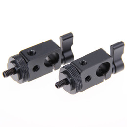 $enCountryForm.capitalKeyWord NZ - CAMVATE 2x Single Rod Clamp standard 1 4 thread Mount Screw Adapter 15mm DSLR RIG system