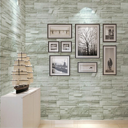 shipping creative removable self adhesive brick 3d wallpapers for wall for living room